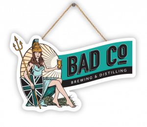 Le logo de la brasserie Bad Co.
