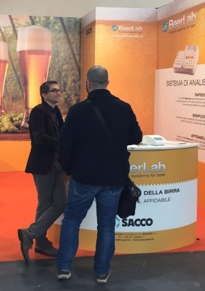 Gabriele Casini, CDR Marketing Manager à Beer Attraction 2016
